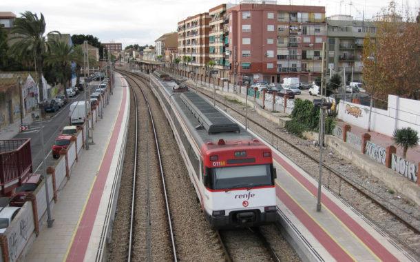 Hallan una mano humana en una estación de tren de Valencia