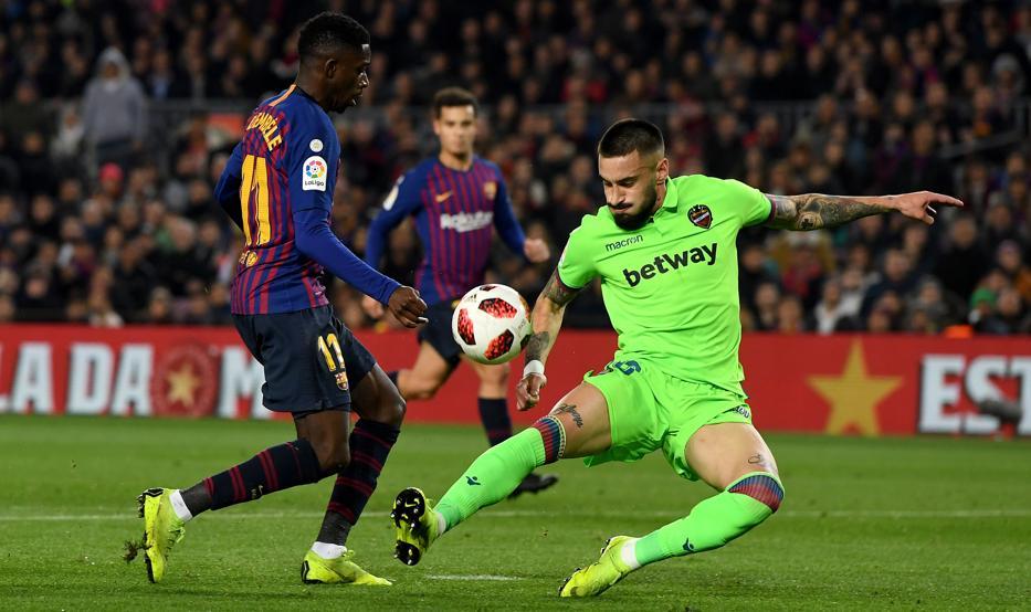 'El caso Chumi' con un Barça-Levante a la vuelta de la esquina